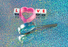 Búsqueda para el amor Fotos de archivo libres de regalías