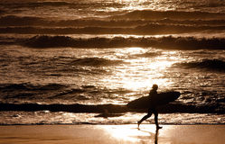 Búsqueda para la onda pasada hoy Foto de archivo libre de regalías