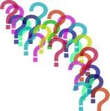 Búsqueda para la respuesta a todas las preguntas Fotos de archivo libres de regalías