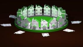 Búsqueda para la vivienda conveniente ilustración del vector