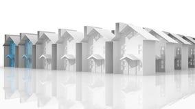 Búsqueda para la vivienda conveniente libre illustration