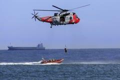 Búsqueda y helicóptero del rescate fotos de archivo libres de regalías
