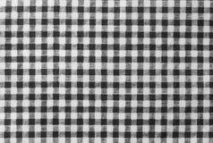 Bûcheron noir et blanc Plaid Seamless Pattern Photo libre de droits