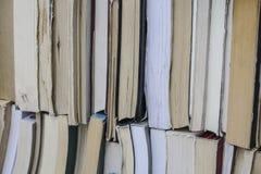 Bücher als Hintergrund Lizenzfreie Stockfotografie