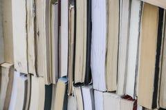Bücher als Hintergrund Lizenzfreies Stockbild