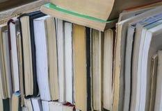 Bücher als Hintergrund Lizenzfreie Stockbilder