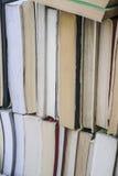 Bücher als Hintergrund Lizenzfreie Stockfotos