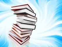 Bücher auf abstraktem Hintergrund Lizenzfreie Stockfotos