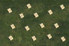 Bücher auf dem Gras Lizenzfreies Stockfoto