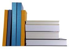 Bücher auf dem Schreibtisch Stockfoto
