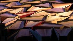 Bücher auf der Tabelle vektor abbildung