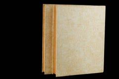 Bücher auf schwarzem Hintergrund Lizenzfreies Stockbild