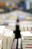 Bücher in der Bibliothek Stockfoto