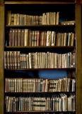 Bücher in der Bibliothek Lizenzfreie Stockfotos