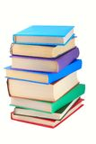 Bücher der verschiedenen Farben. stockfoto