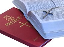 Bücher des Glaubens Lizenzfreies Stockfoto