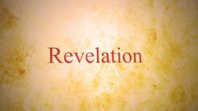 Bücher des neuen Testaments in der Bibel-Reihe - Enthüllung stock video
