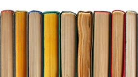 Bücher in einer Reihe Stockfotografie