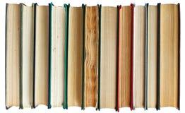 Bücher in einer Reihe Stockbilder