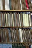 Bücher für Fotografen und Entwerfer Stockfotos