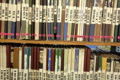 Bücher für Fotografen und Entwerfer Lizenzfreies Stockbild