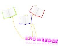 Bücher holen Wissen Lizenzfreies Stockfoto