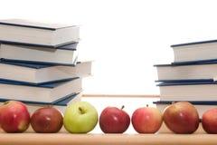 Bücher mit Exemplarplatz Lizenzfreie Stockbilder