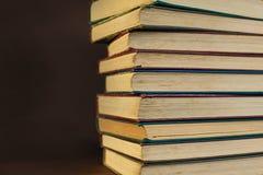 Bücher schließen oben Stockfoto