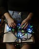 Bücher sind Licht unseres Verstandes stockbild