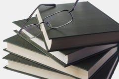 Bücher und Gläser Stockbilder