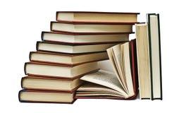 Bücher und mehr Bücher. lizenzfreie stockfotografie