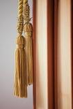 Bücher und Troddel Stockbild