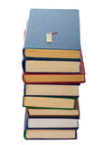 Bücher und usb-Blinkenlaufwerk Lizenzfreie Stockfotografie