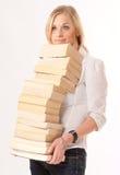 Bücherfreund Lizenzfreie Stockfotografie