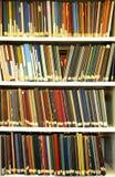 Bücherregal stockbild
