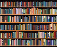 Bücherregal Lizenzfreie Stockfotos