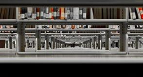 Bücherregale Stockbild