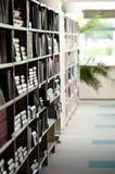 Bücherregale Lizenzfreie Stockfotos