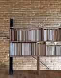 Bücherschrank Lizenzfreies Stockbild
