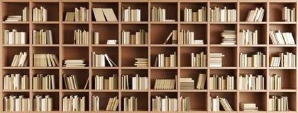 Bücherschrank stock abbildung