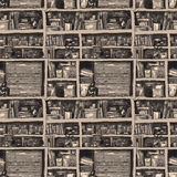 Bücherschrank lizenzfreie abbildung