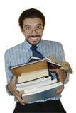 Bücherwurm Stockfoto