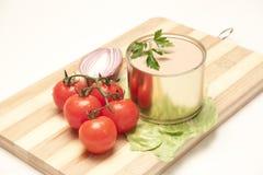 In Büchsen konservierte Nahrung Lizenzfreies Stockfoto