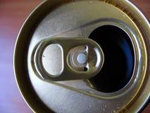 In Büchsen konserviertes Bier Lizenzfreies Stockbild