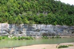 Büffel-Punkt auf dem Büffel-Fluss #4 Stockfotografie