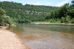 Büffel-Punkt auf dem Büffel-Fluss #1 Stockfoto