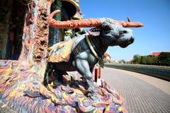 Büffel stateu Farbe voll Stockfoto