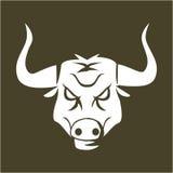 Büffelzeichen Stockbild