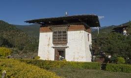 bügel Königreich von Bhutan stockfotos