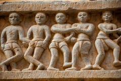 bügel Udaipur, Indien Fragmente von Wänden lizenzfreie stockbilder